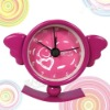 Creative pocket Angel metal swing clock