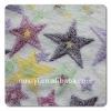 offerset printed coral fleece velvet
