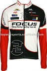focus sublimated cycling wear