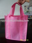 disposable shopping bag, nonwoven gift bag,nonwoven promotion bag