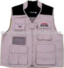 camera garment / vest jacket / photographer vest