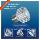 3*1W LED Spotlight (E27,MR16) Xiamen factory