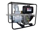 KDP30 3''/80mm Portable Diesel Engine Clean Water Rotary Vane Pump Set