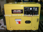 160A-300A air cooled diesel silent welding generator