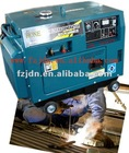 5kw Portable Silent Diesel Engine Driven Welding Generator