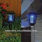 Solar Mosquito Pest Insect Bug Killer Zapper Light Lam