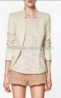 jacquard pattern blazer