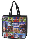 recycled picture printing non woven shopping bag