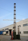 12m mobile telescopic mast tower and high telecom antenna tower mast
