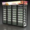 Customized Wine Display Refrigerator Showcase , Compressor wall glass door display fridge cooler for any wine and beverage