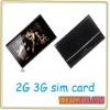"7"" Android 2.3-4.0 Tablet PC 3G SIM card 512MB 4GB 8GB A10 Allwinner"