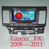 Lancer ex With GPS Bluetooth Phonebook Bluetooth music for 2008-2011