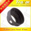 Travor 67mm rubber lens hood