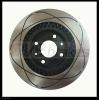 Brake Disc 2112-3501070 with technical bore black E-coat