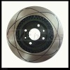 Brake Disc 2112-3501070 with technical bore black E-coat