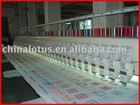 The Best 443 200*400*800mm multi-head flat embroidery machine in China(43 heads long machine)