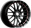 "18"" INOVIT Sonic car wheel with Color Stripe Staggered"