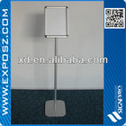 Advertising poster stand with A4 size