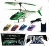 Hot sale of mobile phone R/C helicopter toys