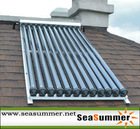 U type heat pipe solar collector SC-U 24/20 tubes