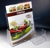 acrylic menu holder