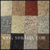 Colored granite powder coating