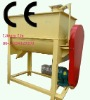 Single-shaft twin screw blender
