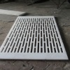 White color UHMWPE suction box cover