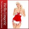 Sexy Miss Santa Underbust Corset