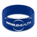 colorful one inch silicone wristbands