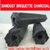 Sawdust charcoal briquette for BBQ