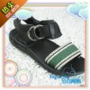 2011 Hottest Fashionable Brand Name Side Button Boy Sandal