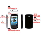 3G Android 2.2 SmartPhone Mobile Phone Cell Phone Support WIFI & GPS With Touch Screen Bluetooth MP3 MP4