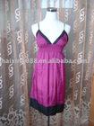 lady cotton silk dress
