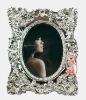decorative resin photo frame