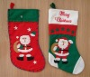 2012 new style Non woven Christmas stocking