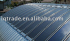 Thin film solar panel roofing system