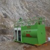 Landscape machine for high way slope protection