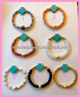 YA36 fashion style new cheap wholesale turquoise cross bracelet