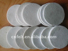 100 percent wool felt polishing disc