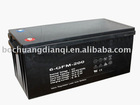rechargable lead acid battery / 12v,200AH/ solar battery
