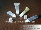 10ml transparent lipstick Soft cosmetic tubes
