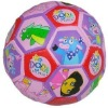 promotional cartoon children football