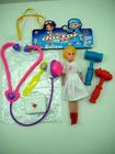 plastic toy doctor set