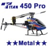 TiTan 450 Pro RC Helicopter Metal RTF Radio control helicopter