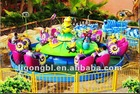 Rotary amusement euipment-- snail Play waterwars