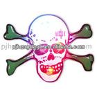 Halloween ghost human skeleton LED flashing badge / pin / body light