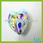 Big lucky hearts pendants with crystal in bulk CP062