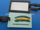 golf bag tag with custom company logo