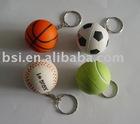 PU stress football keychain/ football keyring/PU keychain